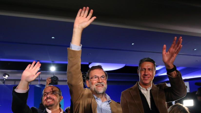 Rajoy visita Cataluña por primera vez tras la declaración unilateral de independencia