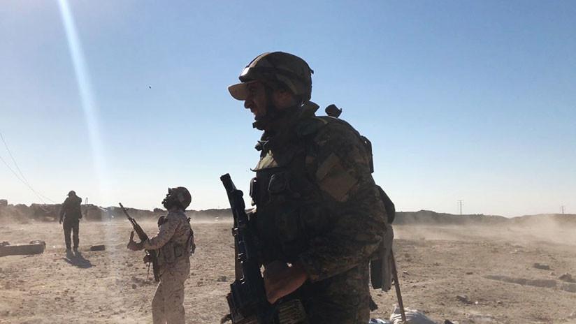 """Propaganda sin fundamento"": militares rusos desmienten que las tropas sirias huyan de Abu Kamal"