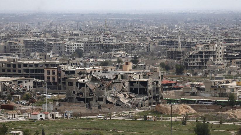"""Damasco insta a la ONU a poner fin a los """"crímenes de guerra"""" de la coalición de EE.UU. en Siria"""