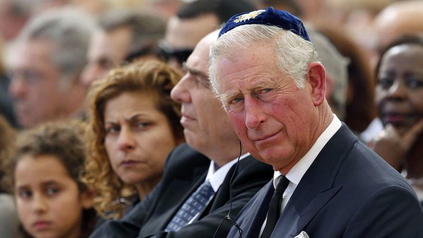 """""""Judíos extranjeros causaron grandes problemas en Oriente Medio"""": revelan carta del príncipe Carlos"""
