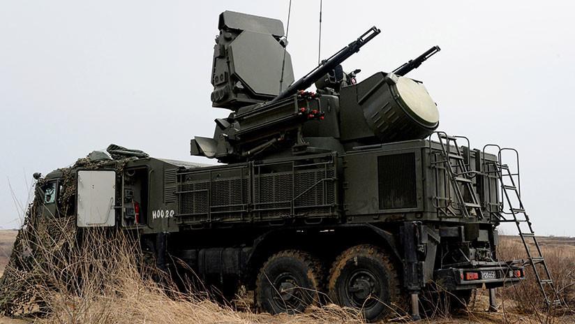 Rusia duplica el poder de sus sistemas antiaéreos Pántsir
