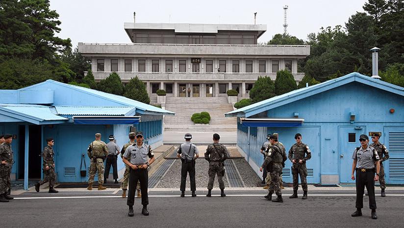 Un soldado norcoreano fue baleado mientras arrancaba a Corea del Sur