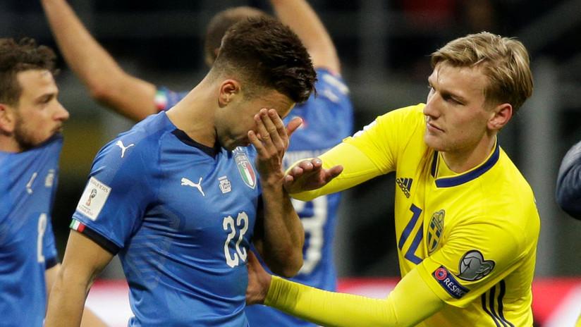 Sorpresa mundial: La selección de Italia no irá a Rusia