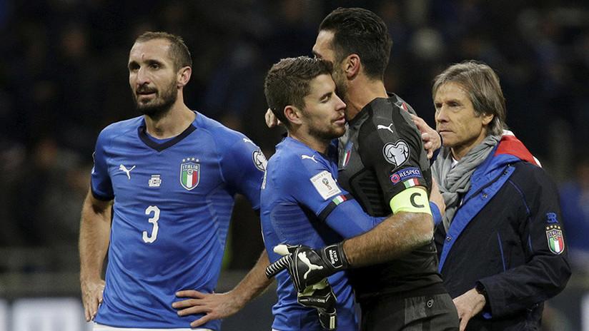 MEMES: Italia se queda fuera del Mundial 2018 y la red no perdona