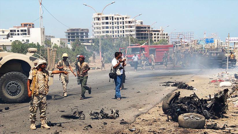 Un atentado con coche-bomba deja varios soldados muertos en Yemen (FOTOS)