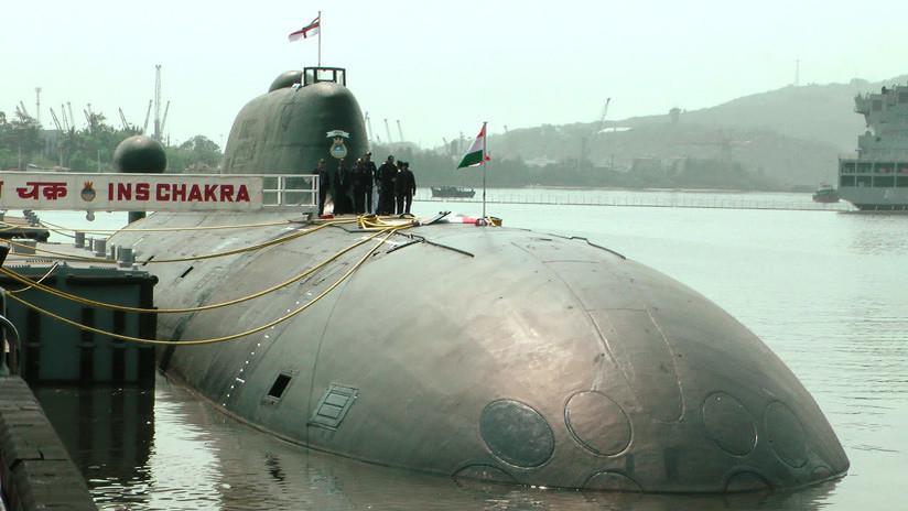 Revelan el motivo de la visita de oficiales de la OTAN a un submarino nuclear ruso en la India
