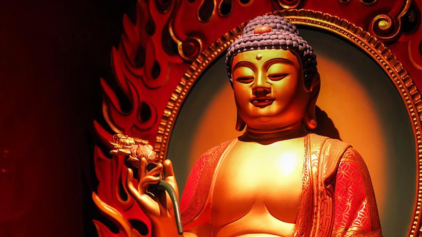 Hallan en China posibles restos incinerados de Buda