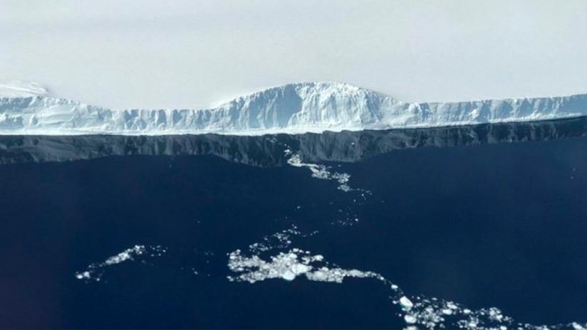 FOTOS, VIDEO: El tercer iceberg más grande de la historia se aleja de la Antártida
