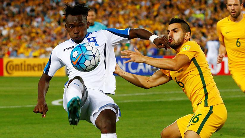Australia derrota a Honduras y obtiene el pase al Mundial de Rusia 2018