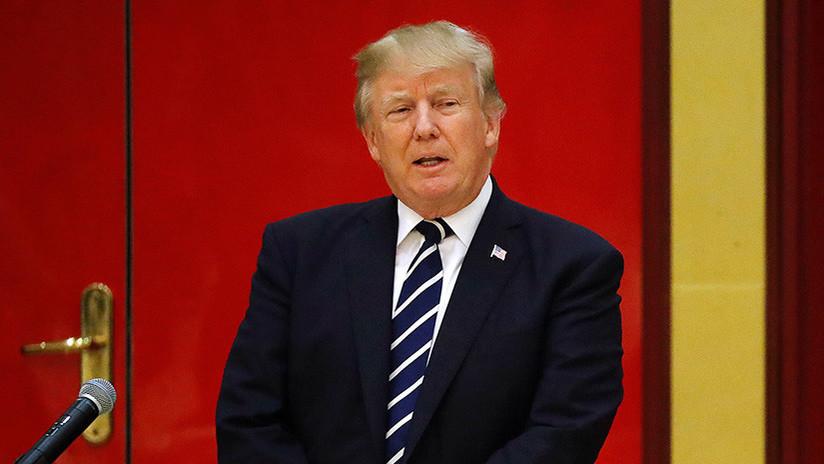 """Trump revela que le """"forzaron"""" a ver la CNN"""