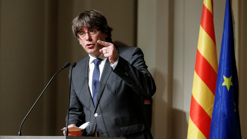 Puigdemont comparece en el Palacio de Justicia de Bruselas