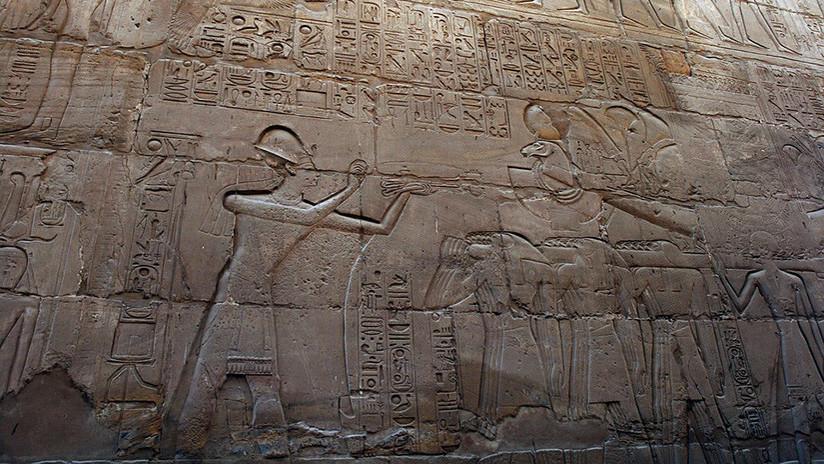 Construyen una casa y encuentran un santuario dedicado a tres deidades egipcias (FOTOS)