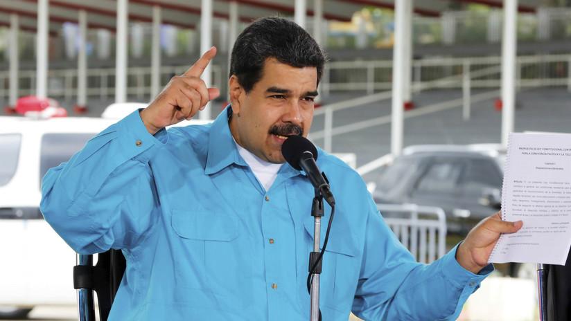 """Maduro sobre Ledezma: """"Se nos escapó, que se quede por Madrid, a tomar vino por allá"""""""