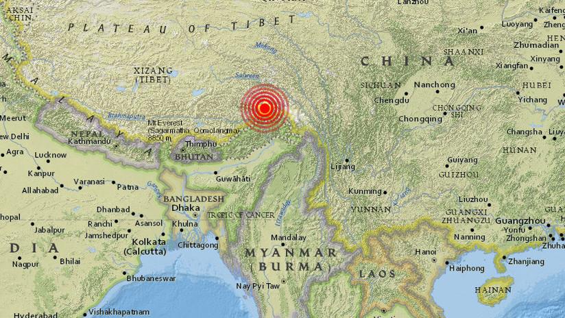 China: Un fuerte sismo de magnitud 6,3 sacude la Región Autónoma del Tíbet