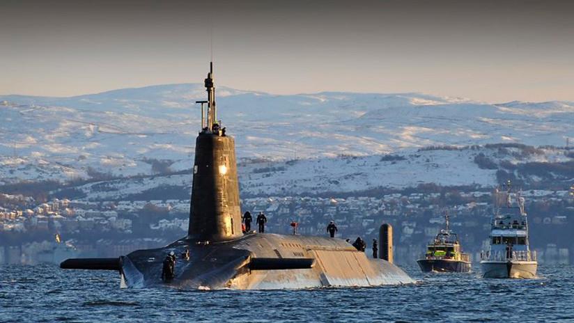 """¿Un periscopio con alas? Los submarinos británicos lanzarán drones """"para espiar barcos rusos"""""""