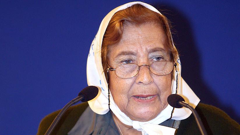 Fallece Marta Vásquez, presidenta de las Madres de Plaza de Mayo Línea Fundadora