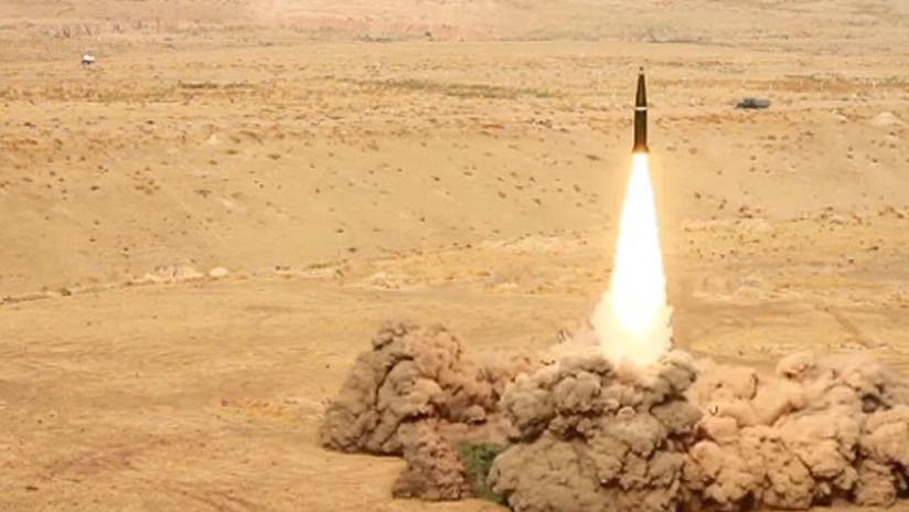 Desde primera fila: El lanzamiento de un misil Iskander-M mejorado (VIDEO)