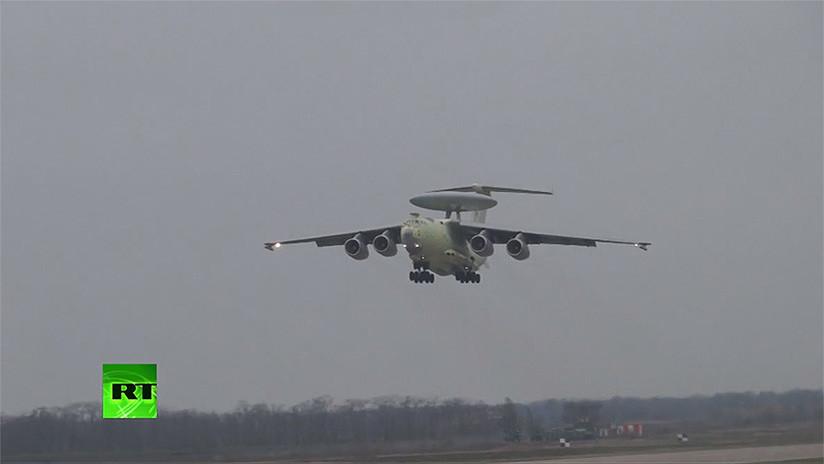 """VIDEO: Levanta el vuelo el """"radar volante"""" ruso capaz de detectar cazas furtivos"""