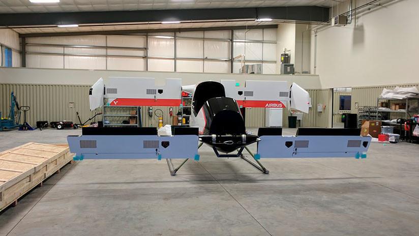 FOTOS: Airbus muestra un prototipo de tamaño real de su taxi volador