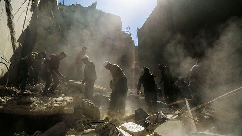 """Moscú tacha de """"vergonzosa"""" la actitud del mecanismo conjunto de la OPAQ y la ONU en Siria"""