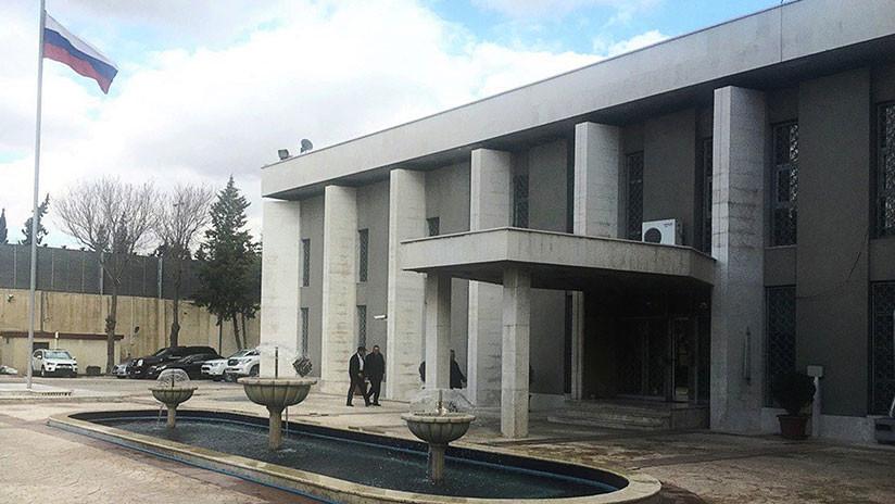 Moscú condena el último atentado contra la Embajada de Rusia en Damasco