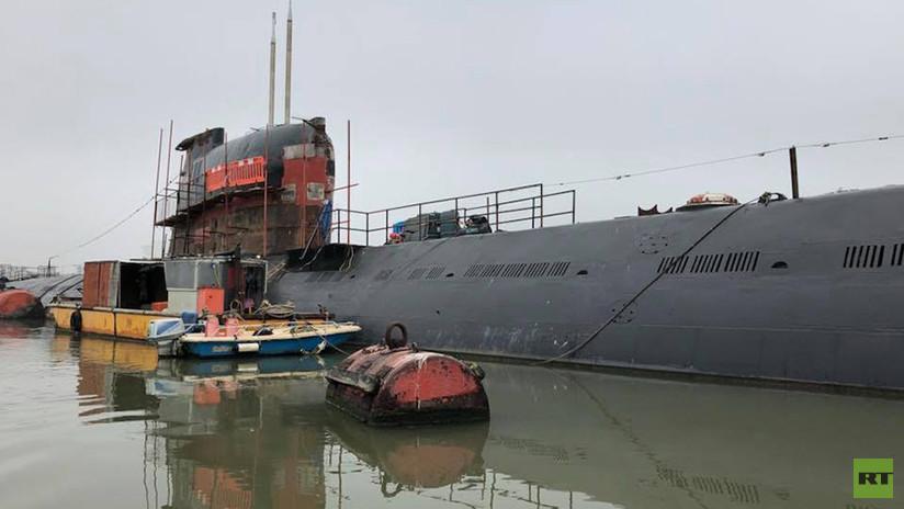 ¿Por qué ha surgido un submarino soviético de la era de la Guerra Fría en el Reino Unido? (Fotos)