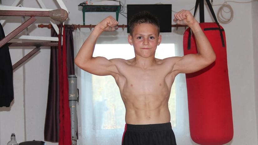 ¿Peligrosos o beneficiosos? Los polémicos entrenamientos del 'niño más fuerte del mundo'