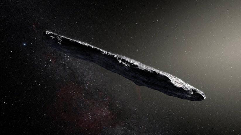 Alargado y de color rojo oscuro: así es el primer visitante interestelar de nuestro Sistema Solar