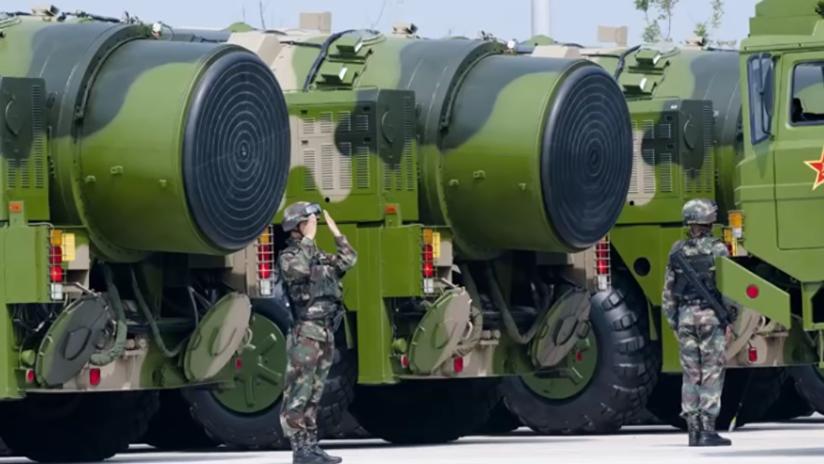 China podría tener listo su poderoso misil balístico intercontinental Dongfeng-41 en el 2018