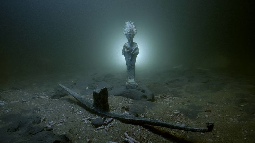 Hallan tres naufragios de la época romana frente a la costa norte de Egipto