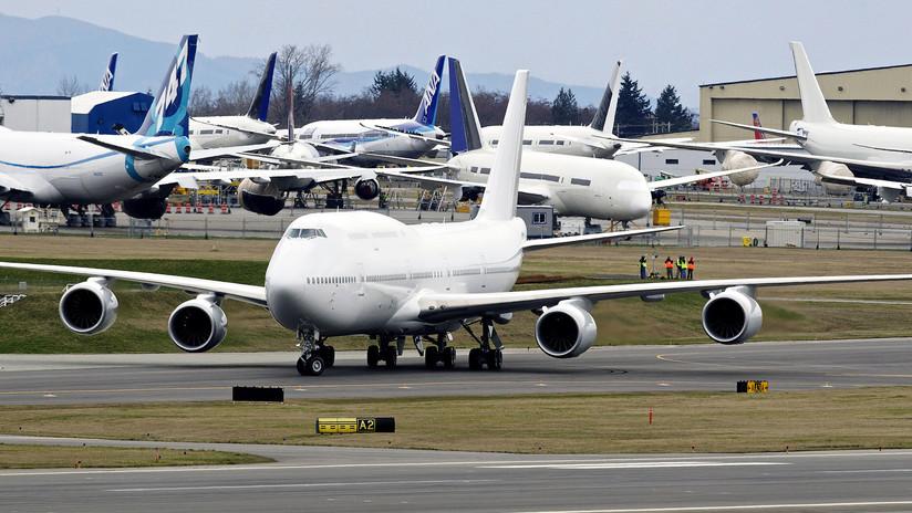 Ahora hasta podrá comprar un Boeing 747 en un comercio chino (FOTO)
