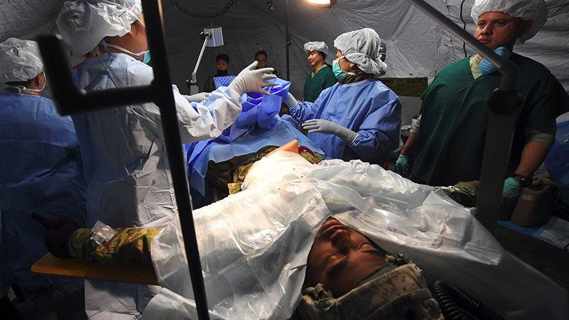 El desertor norcoreano está plagado de parásitos y tiene hepatitis B