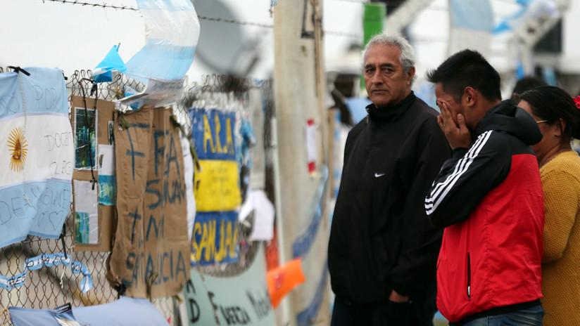 La Armada argentina no puede precisar el estado de la tripulación del ARA San Juan