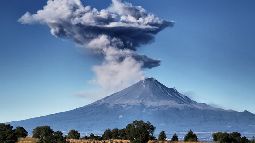 México: El volcán Popocatépetl alcanza su actividad más intensa desde 2013 (VIDEO)