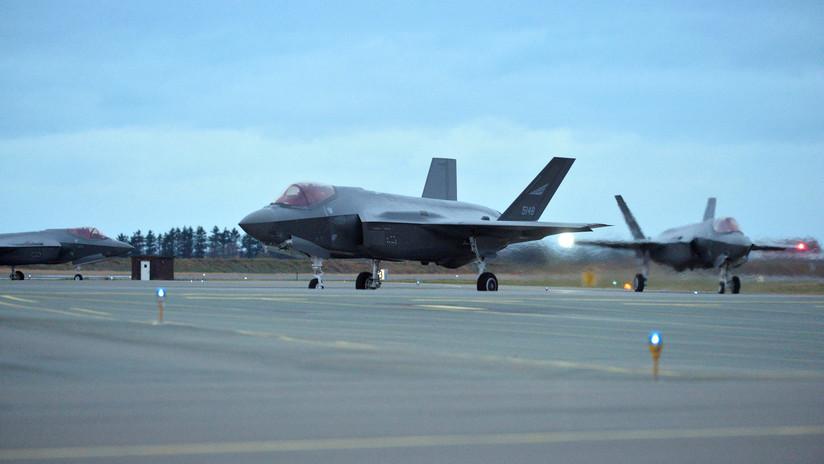 'Vuela y husmea': Los F-35 que Noruega compró a EEUU recopilan datos secretos y los mandan de vuelta