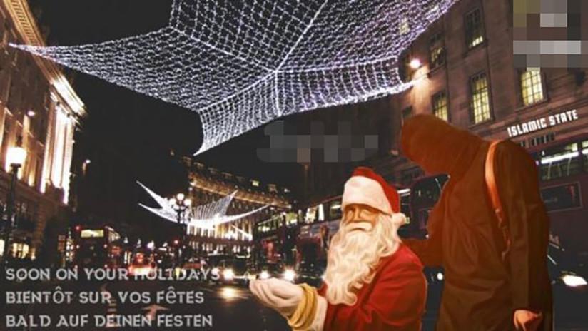 Captan mensajes del Estado Islámico que revelan que planea atacar Europa durante Navidad (FOTO)
