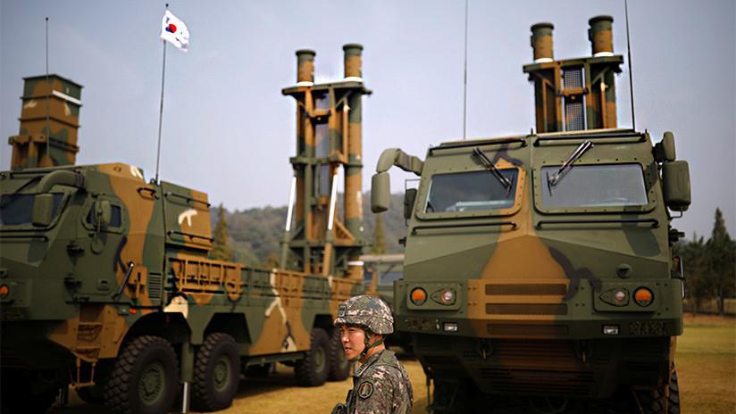 "VIDEO: Seúl responde al último ensayo de misil norcoreano con simulacros ""de precisión"""
