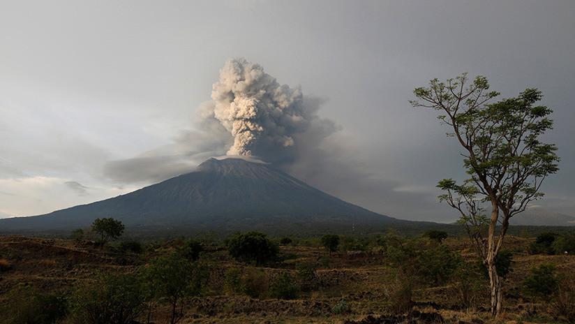 La erupción del volcán Agung podría enfriar el planeta temporalmente