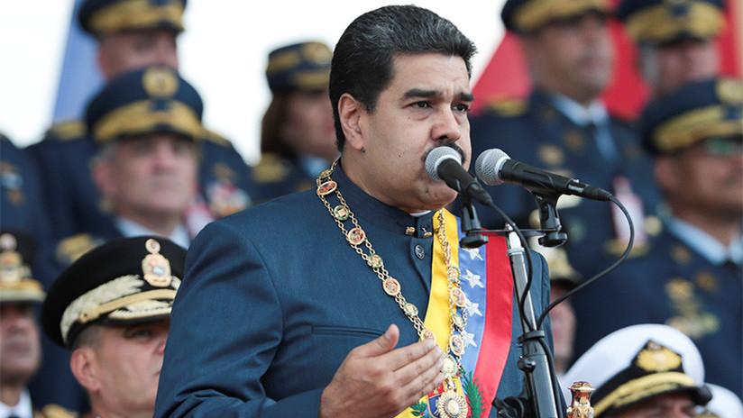 """Video: Maduro anuncia que existen """"lazos directos"""" entre PDVSA y la Embajada de EE.UU. en Venezuela"""