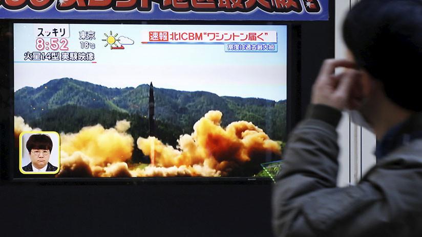 Japón: El nuevo misil de Corea del Norte puede portar armas químicas y biológicas