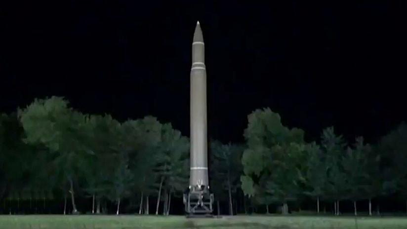 Así es el nuevo misil balístico intercontinental lanzado por Corea del Norte