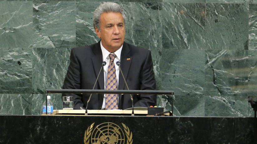 El presidente de Ecuador firma decretos para la convocatoria de la consulta popular