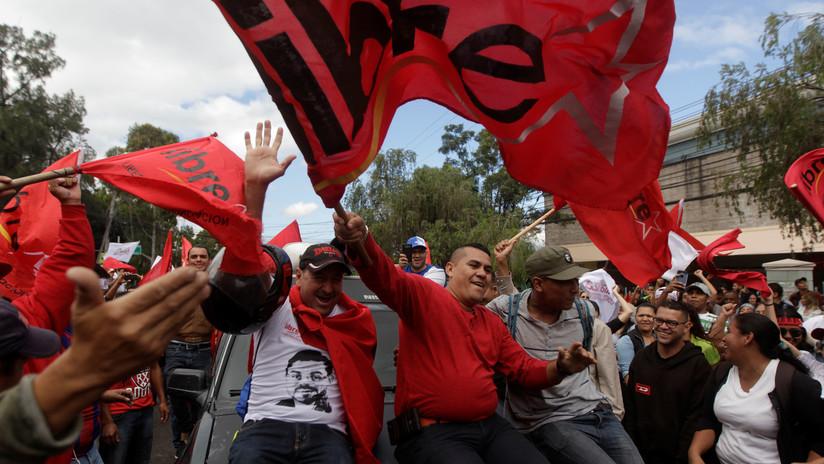 Honduras: Denuncian fraude electoral en puertas contra candidato opositor