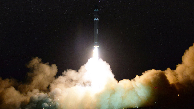Así interceptaría EE.UU. 'en 7 pasos' un misil nuclear lanzado por Corea del Norte