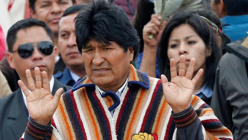 EE.UU. insta a Evo Morales a abandonar la idea de repostularse para la Presidencia de Bolivia