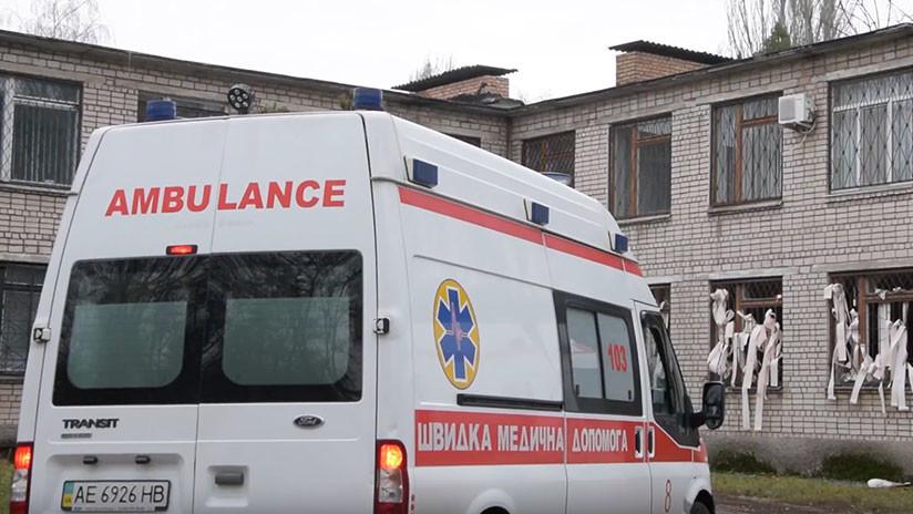 FUERTE VIDEO: Un muerto y siete heridos tras explosiones en un juzgado de Ucrania