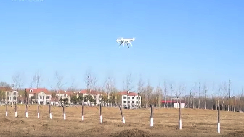 VIDEO: China presenta un cañón láser para derribar drones