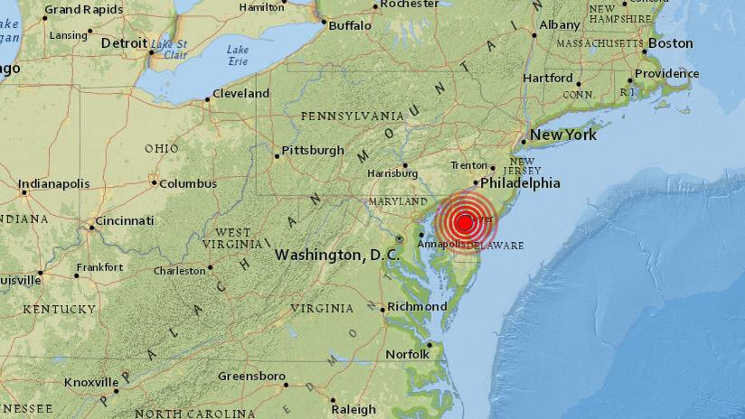 EE.UU: Un fuerte sismo de magnitud 4,4 se siente desde Nueva York a Baltimore