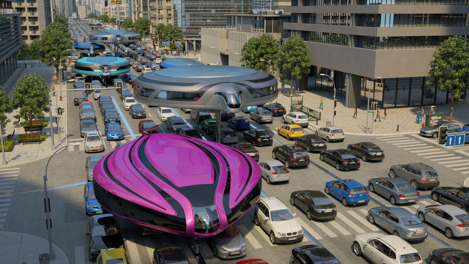 Adiós a los atascos: Cómo un ingeniero ruso pretende revolucionar el transporte en todo el mundo
