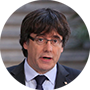 Carles Puigdemont, ex presidente de la Generalitat catalana